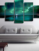 Art Print Modern,Five Panels Horizontal Print Wall Decor For Home Decoration