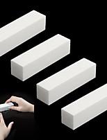 4Pcs/Lot DIY Nail Art Buffer File Block Pedicure Manicure Buffing Sanding Polish White Makeup Beauty Tools