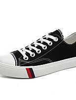 Women's Sneakers Comfort Canvas Spring Casual Comfort Purple Black White Flat