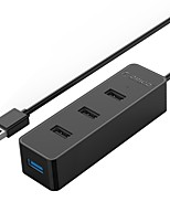 Orico w5ph4-u32 black usb3.0 и usb2.0 4-портовый концентратор с кабелем 30 см