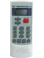 Replacement for Mizushi Wp Air Conditioner Remote Control Ykr-h/002e Yk-h/002e Ykr-h/008 Yk-h/008 Ykr-h/009 Yk-h/009 Ykr-h/888 Yk-h/888