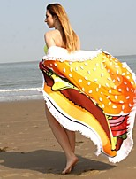 Beach Towel Reactive Print High Quality 100% Polyester Towel