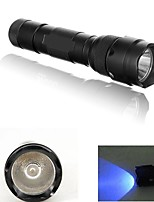WF-502B 500 Lumens 1 Mode UV LED Flashlight Light Lamp