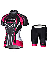 Maillot de Ciclismo con Shorts BicicletaCamiseta/Maillot Ropa de Compresión Medias/Mallas Largas Maillot + Pantalones