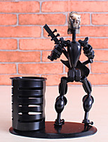 People Wrought Iron Metallic Wrought Iron Musician,Pen Holders & Cases Decorative Accessories