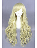 Light Yellow Curl Beautiful Lolita 32inch wig CS-126A