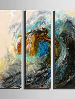 Paisagem Moderno,3 Painéis Tela Vertical Impressão artística Decoração de Parede For Decoração para casa