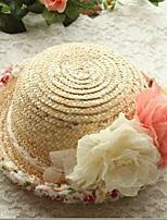 2017 Fashion Design Wide Brim Straw Hat Women Flower Beach Sea Sun Hat Summer Hats