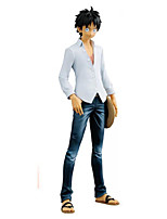 Anime Actionfigurer Inspirerad av One Piece Monkey D. Luffy PVC 20 CM Modell Leksaker Dockleksak