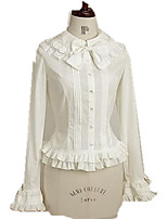 Blouse/Shirt Gothic Lolita Princess Cosplay Lolita Dress Fashion Long Sleeve Lolita Blouse For