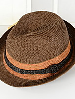 Straw Hat Big Holiday Beach Shading Cap Folding Knitting Soft Sun Hat Bucket Hat