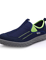 Men's Loafers & Slip-Ons Comfort Tulle Spring Casual Comfort Fuchsia Navy Blue Royal Blue Flat