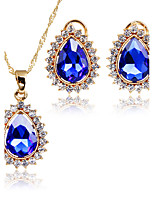 Jewelry Set Bridal Jewelry Sets Charms AAA Cubic Zirconia Cute Style Euramerican Fashion Vintage ClassicCubic Zirconia Rhinestone Zinc