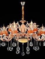 Подвесные лампы Сплав цинка Особенность for Хрусталь Мини Металл В помещении Коридор 15 лампочек