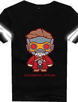 Cosplay Costumes Anime Hoodies & Sweatshirts Super Heroes Movie/TV Theme Costumes Movie Cosplay T-shirt Halloween Carnival Cotton