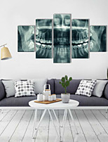 Art Print Abstract Modern Five Panels Horizontal Print Wall Decor For Home Decoration