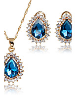 Jewelry Set Bridal Jewelry Sets Pendants AAA Cubic Zirconia Euramerican Fashion Vintage Adorable Simple Style ClassicCubic Zirconia