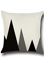 1 Pcs Simple Triangle Mountain Pattern Pillow Case Creative Pillow Cover 45*45Cm Cushion Cover