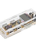 Kkmoon 4 порта 128 * 64 lcd цифровой USB-модуль зарядного устройства для защиты от перегрузки