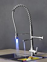 Современный Ар деко / Ретро Modern Выдвижная / Выпадающий Стандартный Носик Высокий / High Arc Настольная установкаСветодиодная лампа