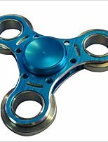Toupies Fidget Spinner à main Toupies Jouets Jouets Tri-Spinner Aluminium EDC Soulagement de stress et l'anxiété Nouveautés & Farces