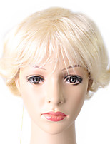 Short Style Bobo Hair Blonde Color Synthetic Wigs capless Wig