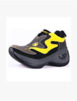 Women's Sneakers Comfort Suede Spring Casual Black/Yellow Black/Green Black/Silver Flat