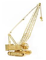 Пазлы 3D пазлы Строительные блоки Игрушки своими руками Машина Из нержавеющей стали Модели и конструкторы