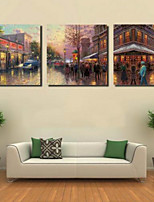 Art Print Landscape Modern Three Panels Horizontal Print Wall Decor For Home Decoration