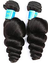 Tissages de cheveux humains Cheveux Vietnamiens Ondulation Lâche 12 mois 2 tissages de cheveux