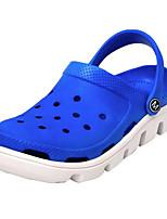 Men's Sandals Comfort PVC Spring Daily Pool Navy Blue Coffee Flat