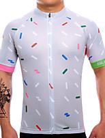 Cyklodres Pánské Krátké rukávy Jezdit na kole Dres Rychleschnoucí Prodyšné Ter Emen Coolmax LYCRA® Klasický Léto