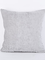 Chenille Pillow Case- Light Grey