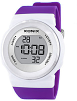 Women's Kid's Sport Watch Smart Watch Digital Water Resistant / Water Proof Noctilucent Rubber Band Blue Green Purple