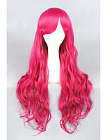 Rose Red Curl Beautiful Lolita 32inch wig CS-128A