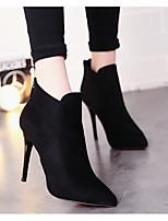 Women's Sandals Comfort Suede Spring Casual Comfort Black Flat