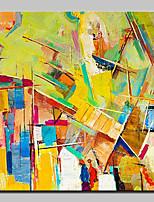Peinture à l'huile abstraite peinte à la main sur toile murale pour décoration de maison avec cadre étiré prêt à accrocher
