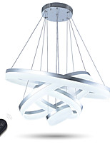 Modern LED Acrylic Pendant Lights Ceiling Chandeliers Light Lamps Lighting 76W Dimmable with Remote Control