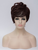 Europe and the United States Wig Brown Tidy Lady Short Hair Fashion Short Hair Wig 6inch