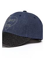 Baseball Cap Lovers Adjustable Folding Sun Hat Men's Women's Summer Leisure Holiday Cotton Couple's