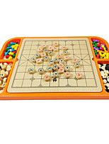 Chess Game Natural Wood 6 Years Old and Above 3-6 years old