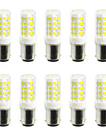 5W Luces LED de Doble Pin 52 SMD 2835 400-500 lm Blanco Cálido Blanco Fresco V 10 piezas