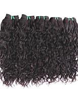 Wholesale Natural Wave Virgin Hair 5Bundles 500g Deals Good 8A Grade Quality Brazilian Human Hair Extensions Brazilian Hair Weaves Natural Black Color