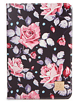 For Apple iPad (2017) Pro 9.7'' Case Cover with Stand Flip Pattern Full Body Case Flower Hard PU Leather  Air 2 Air ipad2 3 4