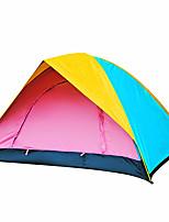 3-4 Pessoas Tenda Duplo Tenda Automática Um Quarto Barraca de acampamento 2000-3000 mm Á Prova de Humidade Prova de Água-Campismo