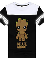 Cosplay Costumes Anime Hoodies & Sweatshirts Super Heroes Monster Movie/TV Theme Costumes Movie Cosplay T-shirt Halloween Carnival Cotton