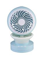 Ventilador de ar LED Reabastecimento de umidificação Fresco e refrescante Regulação da velocidade do vento Bateria