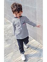 Stripe Shirt,Cotton Spring Long Sleeve