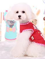 Жилет Одежда для собак Красный Синий