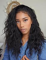 Perucas de laço brasileira do laço do cabelo humano da parte dianteira do laço do cabelo quente com hairline natural cabelo natural virgem